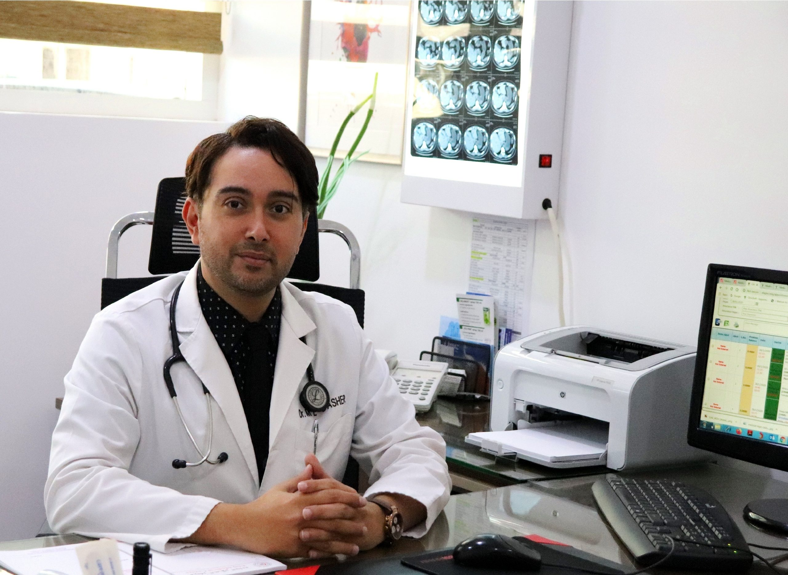 General Practitioner GP Doctor In Ajman At Elaj Medical Centre